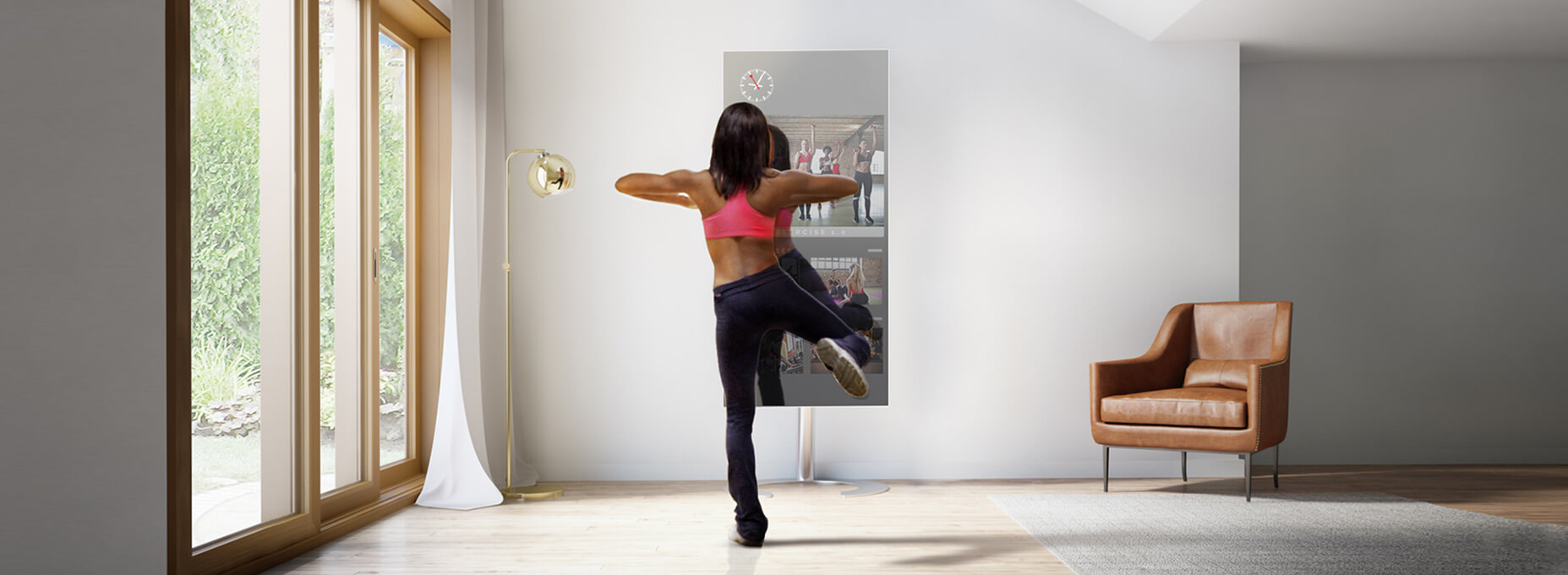 The fitness mirror that you need in your home!