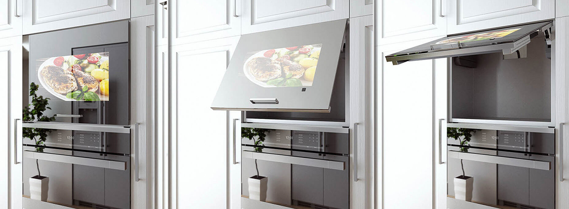 Kitchen Smart TV that is customizable for your kitchen.